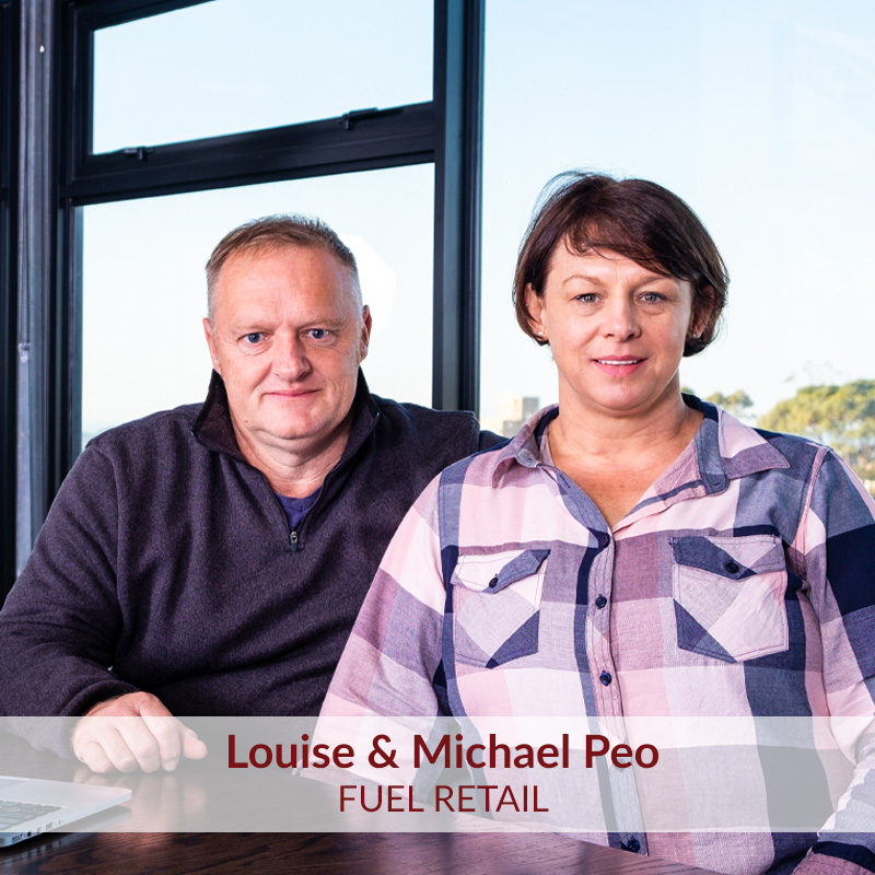 Louise & Michael Peo JH Group